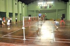 Badminton court at Atul Club