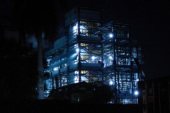 Plant at Atul, by night