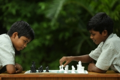 Classroom activities at Atul Vidyamandir, a residential school run by Atul Foundation for tribal students