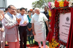 Shri Narendra Modi inaugurating a new plant established by Atul in Ankleshwar